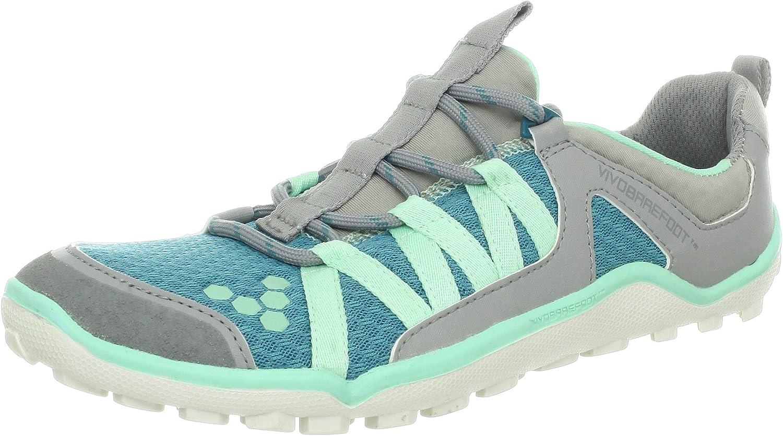 Vivo BarefootBreatho Trail L - Zapatillas de Running Mujer, Gris (Gris - Gris), 6.5 UK: Amazon.es: Zapatos y complementos