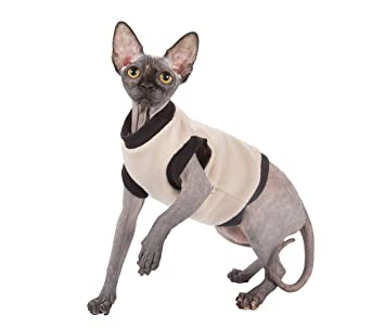 Kotomoda ropa para gatos BIEGE FLEECE (XS): Amazon.es: Productos para mascotas