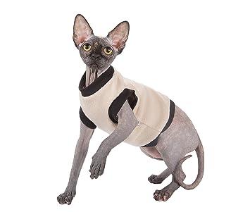 Kotomoda ropa para gatos BIEGE FLEECE (XS): Amazon.es: Productos para mascotas