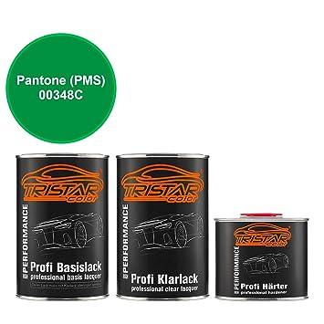 TristarColor 2 5 Litre 2 K PAINT KIT Pantone (Pantone Pms) 00348 °C
