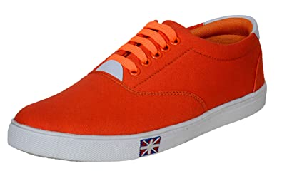 Image result for orange shoes