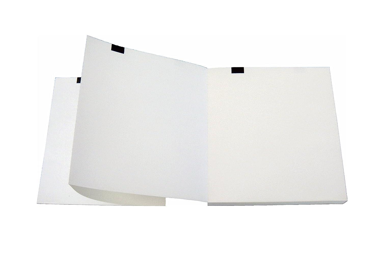 Paquetes plegados de papel térmico para espirómetro compatibles con Bioset Spiroset 2400-000-021
