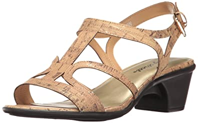 Easy Street Women's Britney Dress Sandal, Cork Fleck, ...