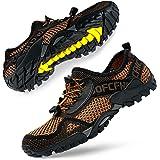 SOBASO Water Shoes Women Men Quick Drying Swim Beach Aqua Shoes for Water Sport Diving Hiking Sailing Travel
