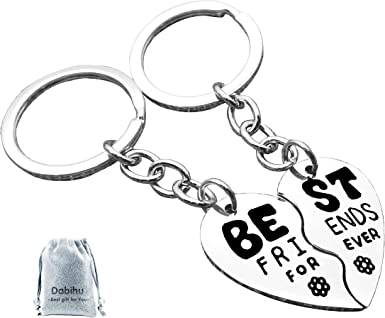 KEYRING Forever in my Heart Pretty Charms Hearts Flowers Love Special Gift