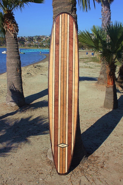 Amazon Com 7 Ft Wood Surfboard Wall Art Decor Handmade