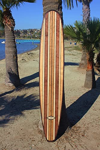 Amazon.com: 7 ft Wood Surfboard Wall Art Decor: Handmade