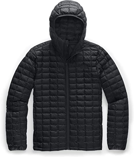 Domple Mens Winter Windbreaker Warm Plus Size Quilted Hooded Thick Down Jacket