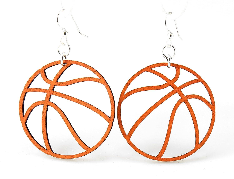 Baloncesto pendientes: Amazon.es: Joyería