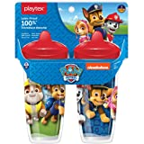 Playtex 10078300028908 Sipsters Stage 3 Paw Patrol Spill-Proof, Leak-Proof, Break-Proof Spout Cup for Boys, 9 Ounce…