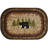 Cozy Cabin CC5282 Birch Bear Non Skid Rug