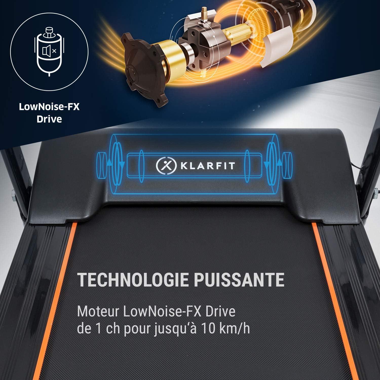 Klarfit Treado Advanced 2.0 - Cinta de Correr Plegable hidráulica ...