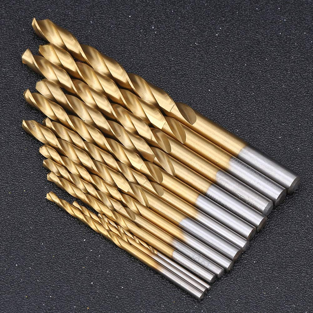Plastic 1.5mm‑6.5mm 13Pcs Multiple Hole Drilling Cone Bit Set Metal Drill Bits for Steel Straight Shank Drill for Steel Wood