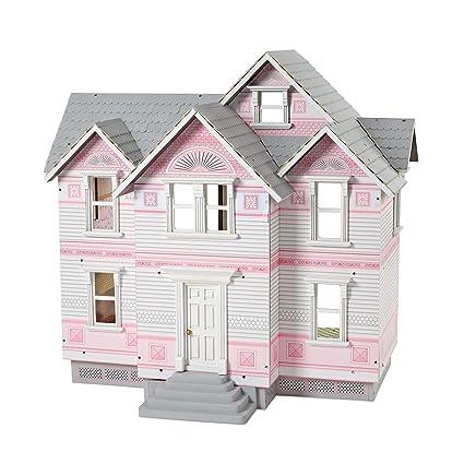 Amazon Com Melissa Doug Victorian Dollhouse Dolls Dollhouses