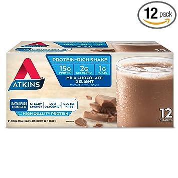 Amazon.com: Atkins Batido de proteína listo para beber ...