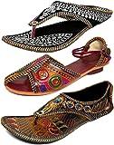 Thari Choice Woman and Girls Ethnic Slipper (Pack of 3)
