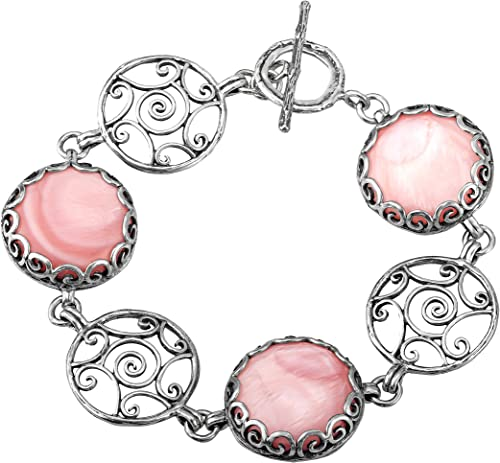 PAZ Creations /♥ .925 Sterling Silver Charm Bracelet