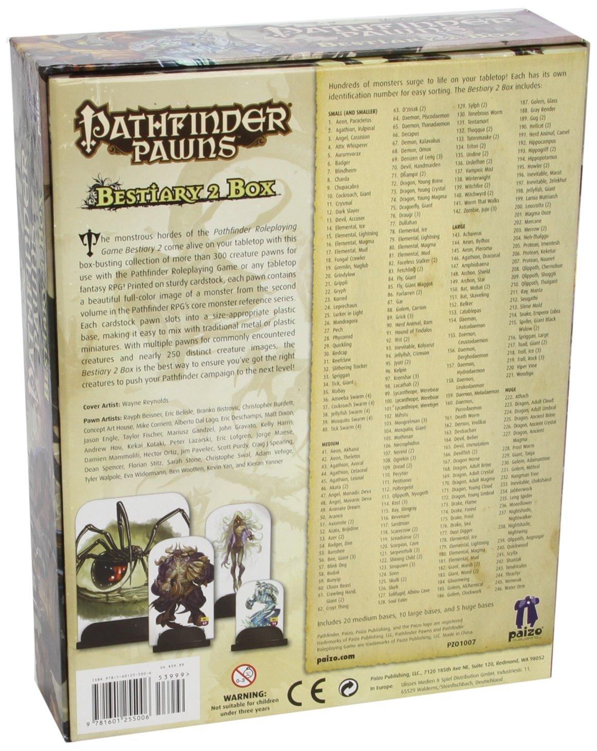 Pathfinder Pawns: Bestiary 2 Box by Paizo Inc. (Image #2)
