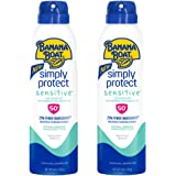 Banana Boat SPF 50 Mineral Sunscreen , Spray Twin Pack