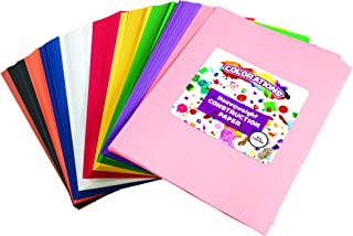 "product image for Construction Paper Pack, 10 Assorted Colors, 9"" x 12"", 600 Sheets, Heavy Weight Construction Paper, Crafts, Art, Kids Art, Painting, Coloring, Drawing, Creating, Arts and Crafts (Item # SMARTSTK)"