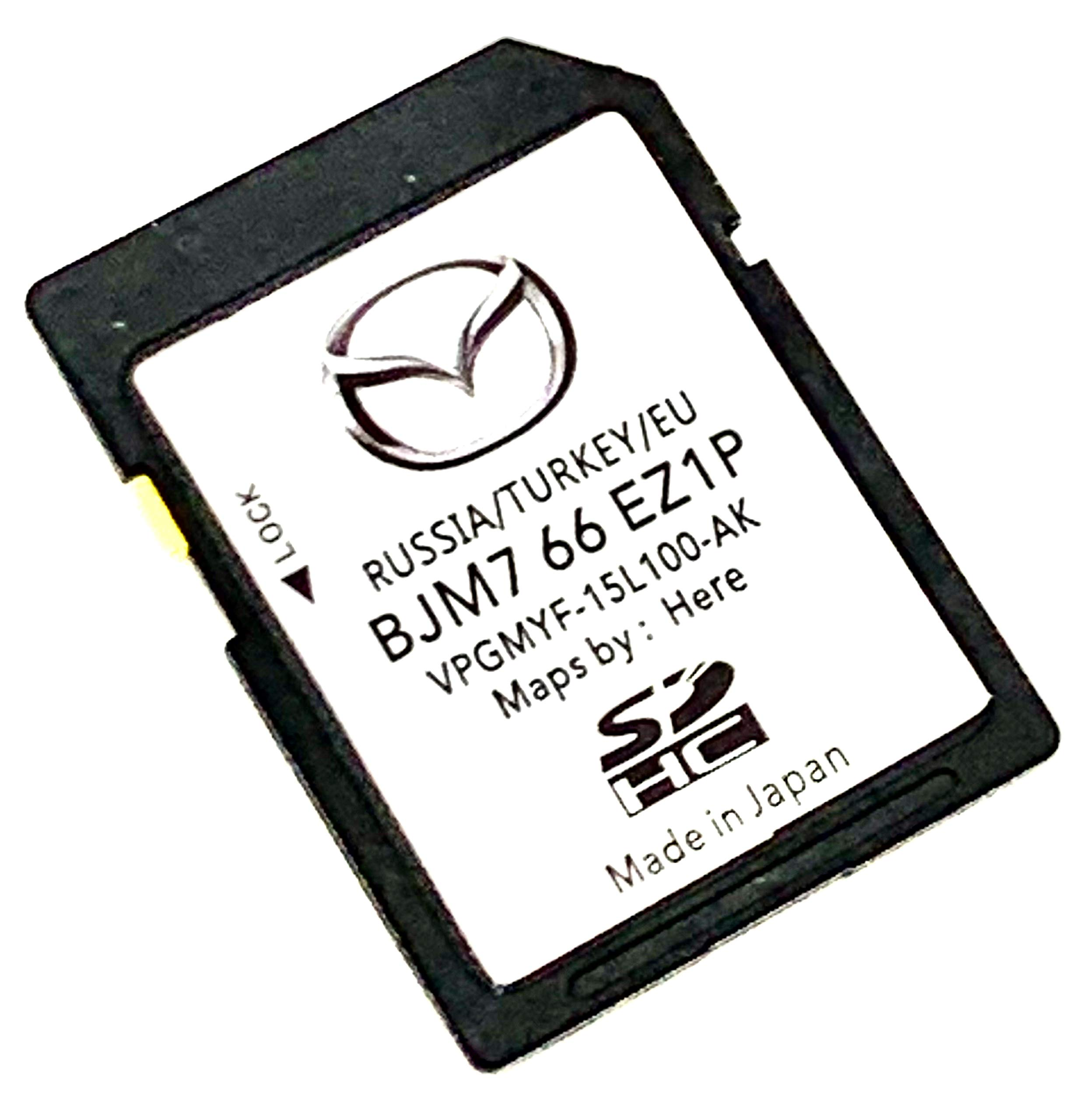 Latest SD Card 20//2021 for Mazda SkyActiv Connect Navigation SD Card 2020//2021 Sat Nav Map Update Cover All Europe Turkey Russia Part Number: BJM7-66-EZ1P