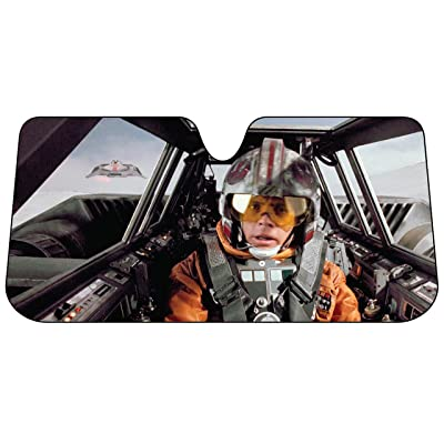 Plasticolor 003702R01 Star Wars Snow Speeder Accordion Bubble Sunshade: PlastiColor: Automotive