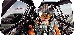 Plasticolor 003702R01 Star Wars Snow Speeder Accordion Bubble Sunshade