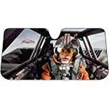 Plasticolor 003702R01 Star Wars Snow Speeder Accordion Bubble Sunshade