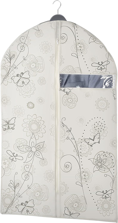 Beige Polipropileno 100x60x3 cm Wenko Bolsa Porta Trajes Butterfly