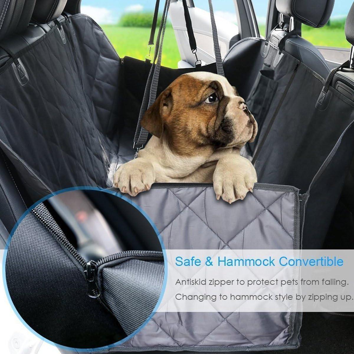 PETCUTE Coprisedile Auto per Cani Amaca per Cani Rivestimento per Sedile dellAuto Copertura di Sedile per Viaggio