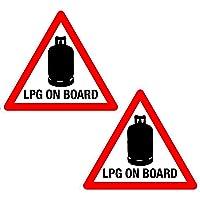 2 x LPG en triángulo campista remolque caravana