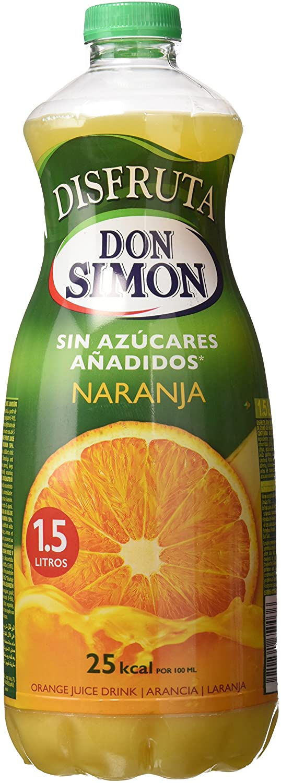 Don Simon Disfruta - Nectar De Naranja, Botella 1.5 L: Amazon.es: Alimentación y bebidas
