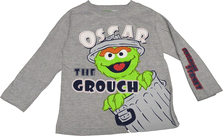 Sesam Street Oscar The Grouch Kids Boy Quality T-shirt