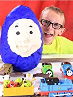Thomas and Friends Surprise Packs and MEGA Egg Opening!!