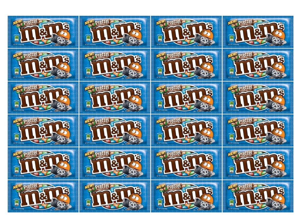M&M Pretzel Chocolate 24Ct/1.14 oz - TJ12