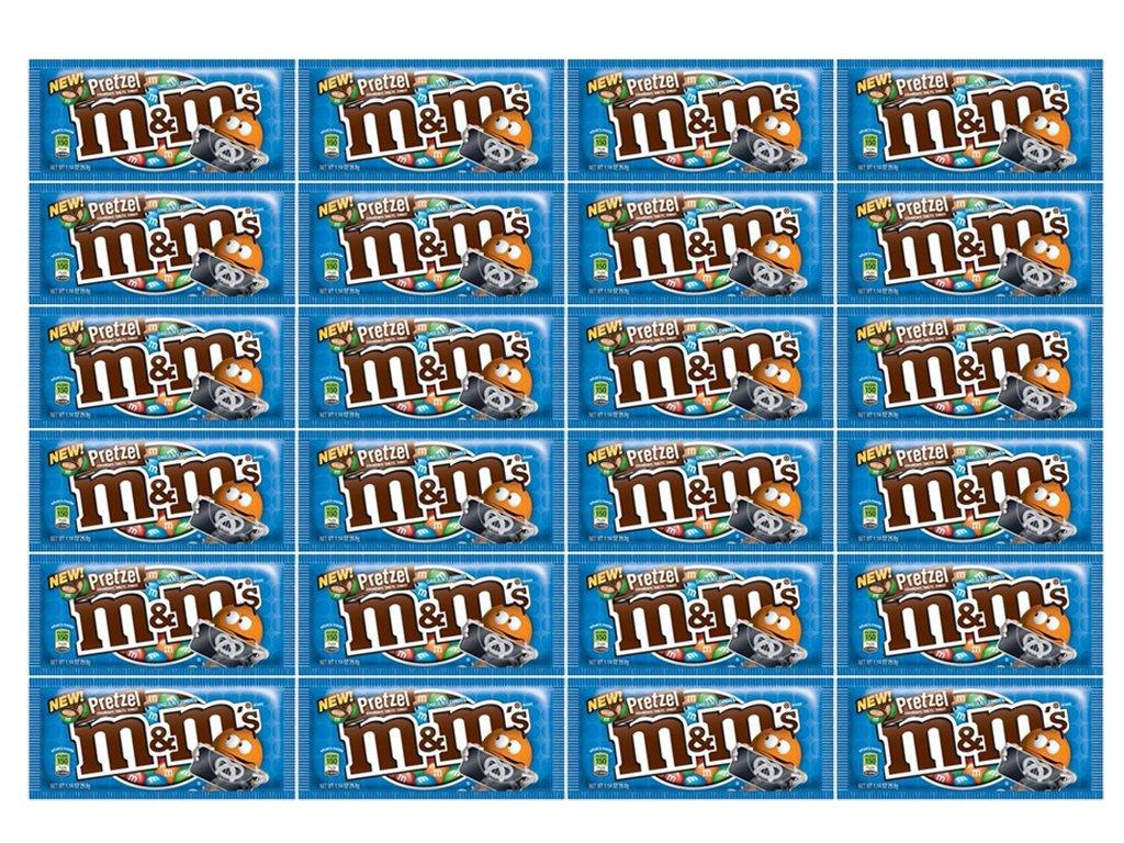 M&M Pretzel Chocolate 24Ct/1.14 oz - TJ12 by M&M