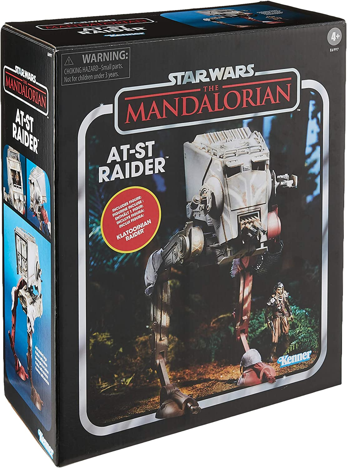 Amazon.com: Star Wars AT-ST Raider - Escala Mandaloriana ...