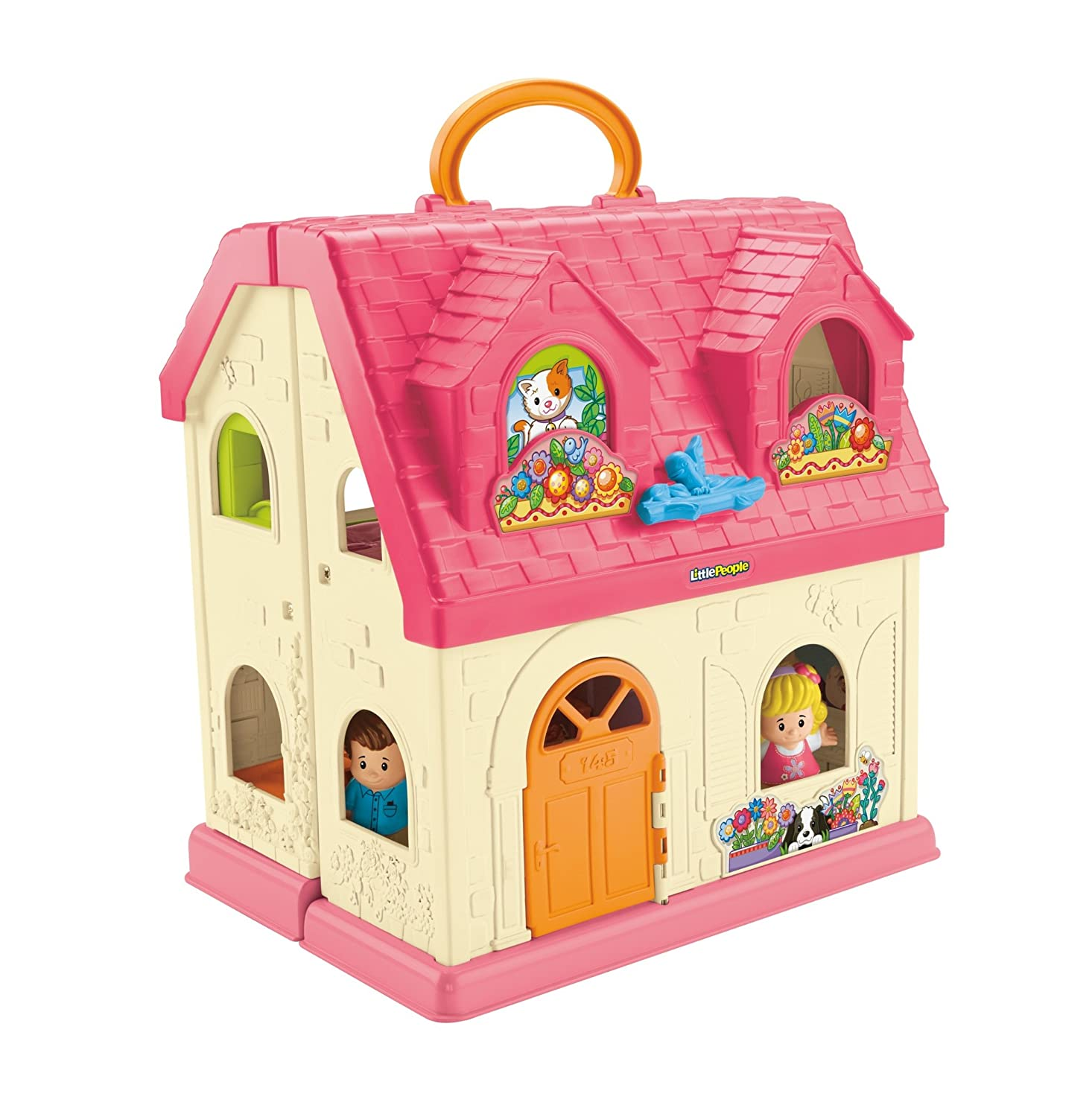 Fisher-Price Little People Surprise & Sounds Home Playset