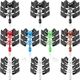 WILLBOND 10 Pairs Elastic Shoelace No Tie Laces No Tie Elastic Shoe Laces with Lock Device for Adults and Kids Running…