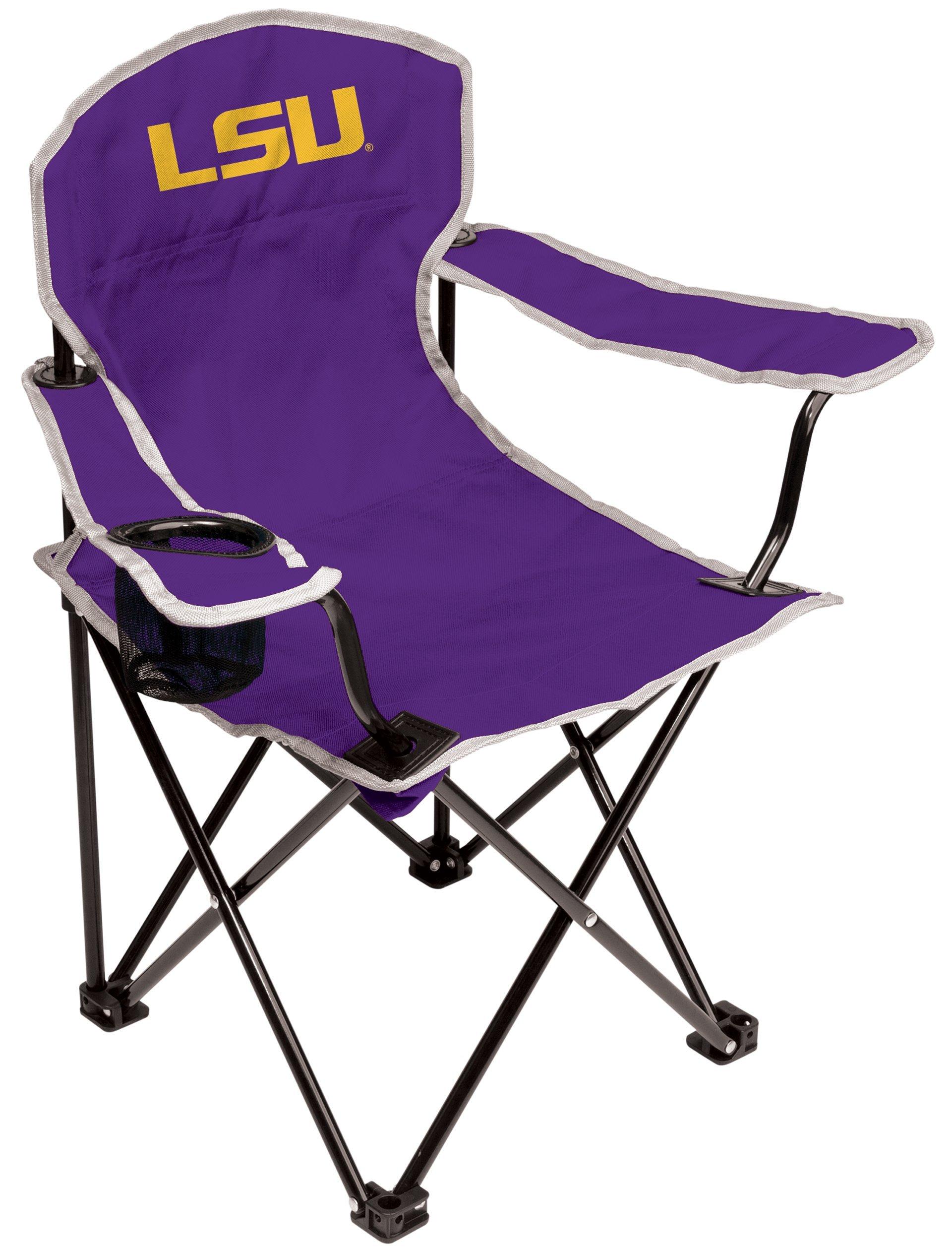 NCAA LSU Tigers Youth Folding Chair, Purple