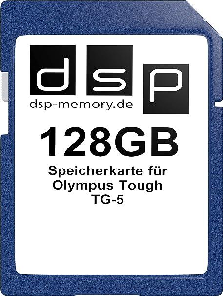 Dsp Memory 128gb Speicherkarte Für Olympus Tough Tg 5 Elektronik