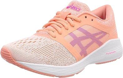 asics junior running shoes size 2 heels
