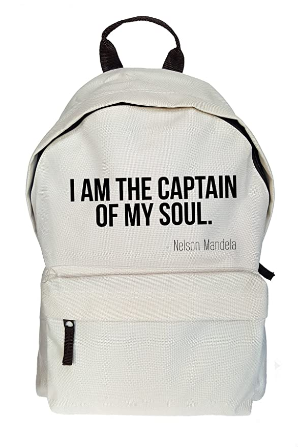 Amazon I Am The Captain Of My Soul Mandela Quote Print