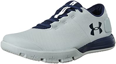 Under Armour Men's UA Charged Ultimate TR 2.0 Steel and Midnight Navy  Multisport Training Shoes -