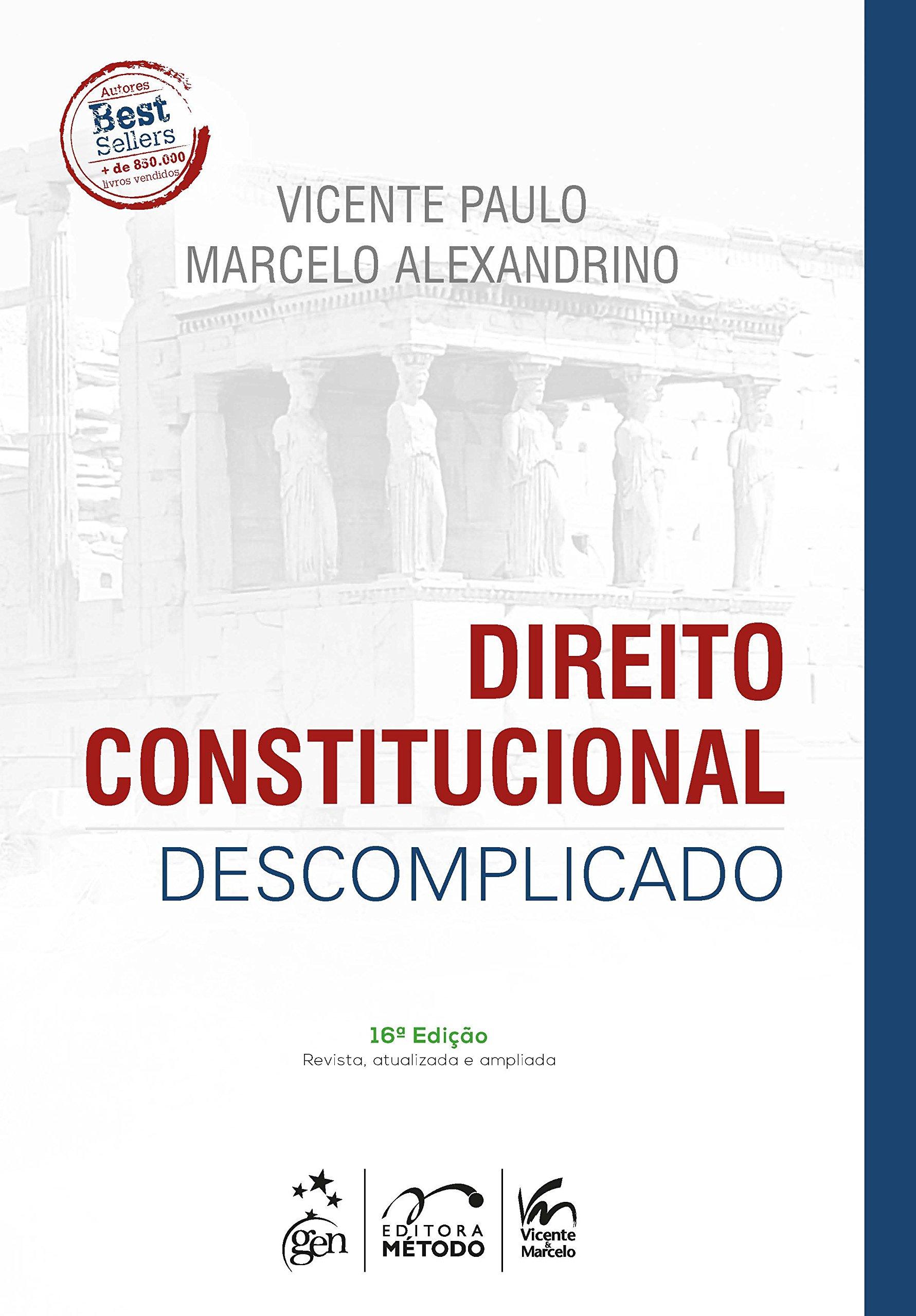 livro de direito administrativo marcelo alexandrino para