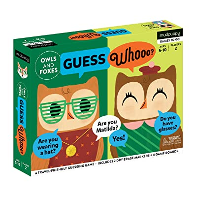 Owls And Foxes Guess Whooo?: Toys & Games