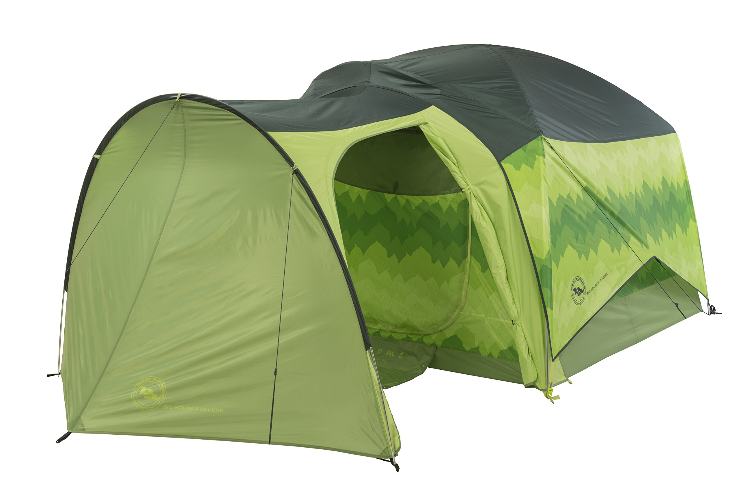 Big Agnes Big House Deluxe Accessory Vestibule, Green, 6 Person by Big Agnes