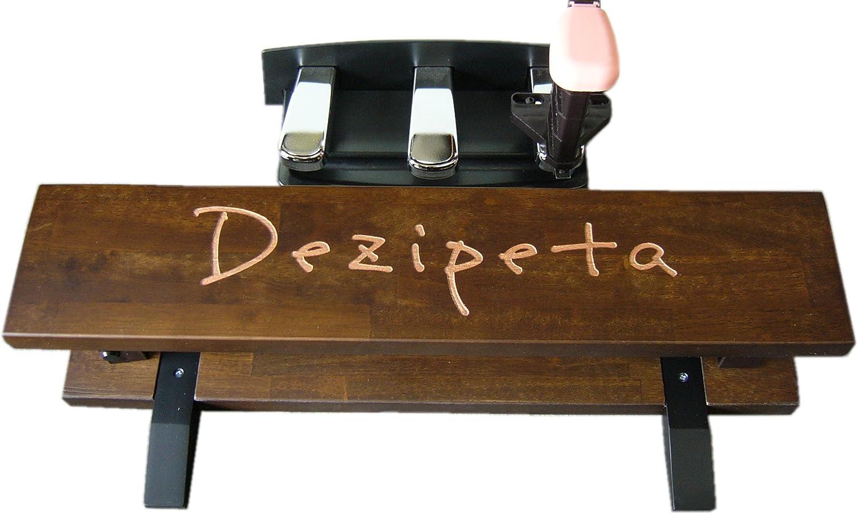 電子ピアノ用 補助ペダル「デジペタ」 足台(ブラウン)&ペダル(ピンク)セット  ピンク B00RB8QBJS