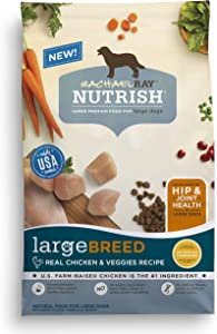 Rachael Ray Nutrish Large Breed Premium Natural Dry Dog Food, Real Chicken & Veggies Recipe, 14 Pounds