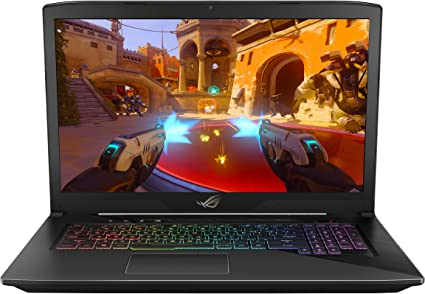 "ASUS ROG STRIX GL703VD 17.3"" Gaming Laptop, GTX 1050 4GB, Intel Core i7 2.8 GHz, 16GB DDR4, 1TB FireCuda SSHD, RGB Keys"